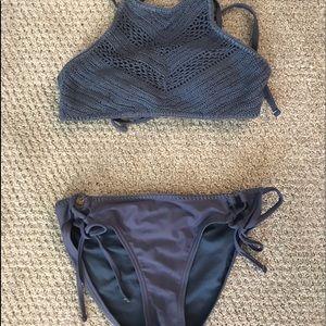 Crochet Bikini - Target - sizeM bottoms, sizeS top